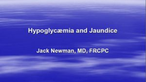 Special Babies II: Hypoglycaemia and Jaundice, 3L CERPs