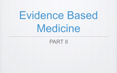 Evidence-Based Medicine: An In-Depth Study, 4L CERPs