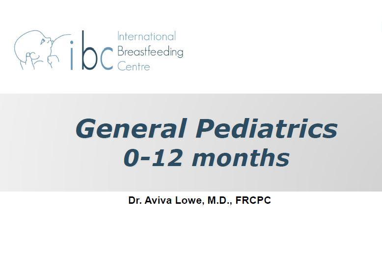 General Pediatrics of Breastfeeding, 3L CERPs